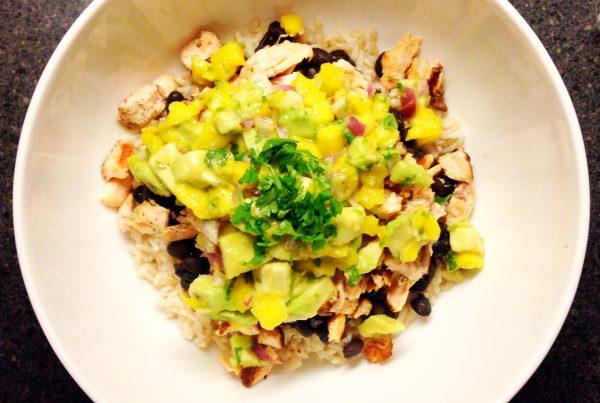 Simple Jerk Chicken with Mango Chutney Recipe