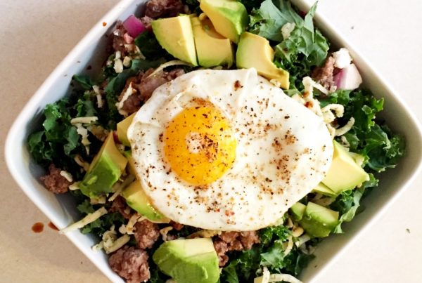 Grassfed Bacon Cheeseburger Salad Recipe Image
