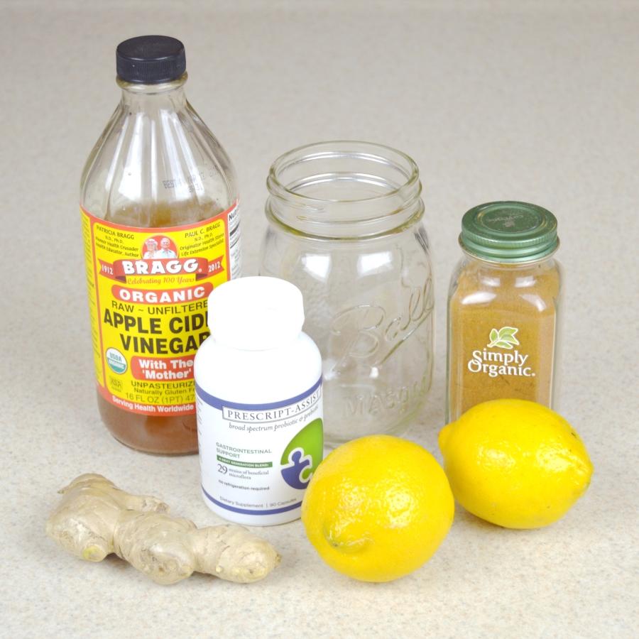 Image of healing tonic ingredients