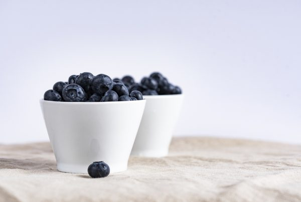 Blueberries in article about wellness