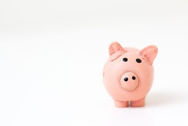 Image of a piggy bank in an article about getting your finances in order
