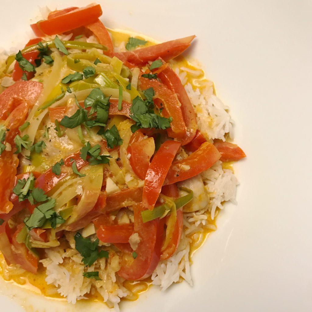 Paleo Thai Chicken Curry