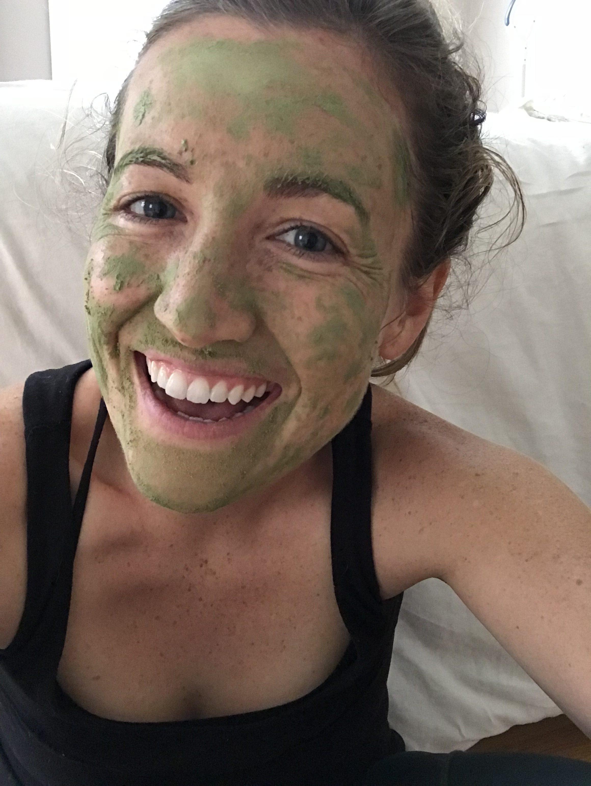 DIY Seaweed Mask