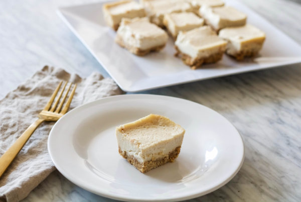 low sugar lemon bars