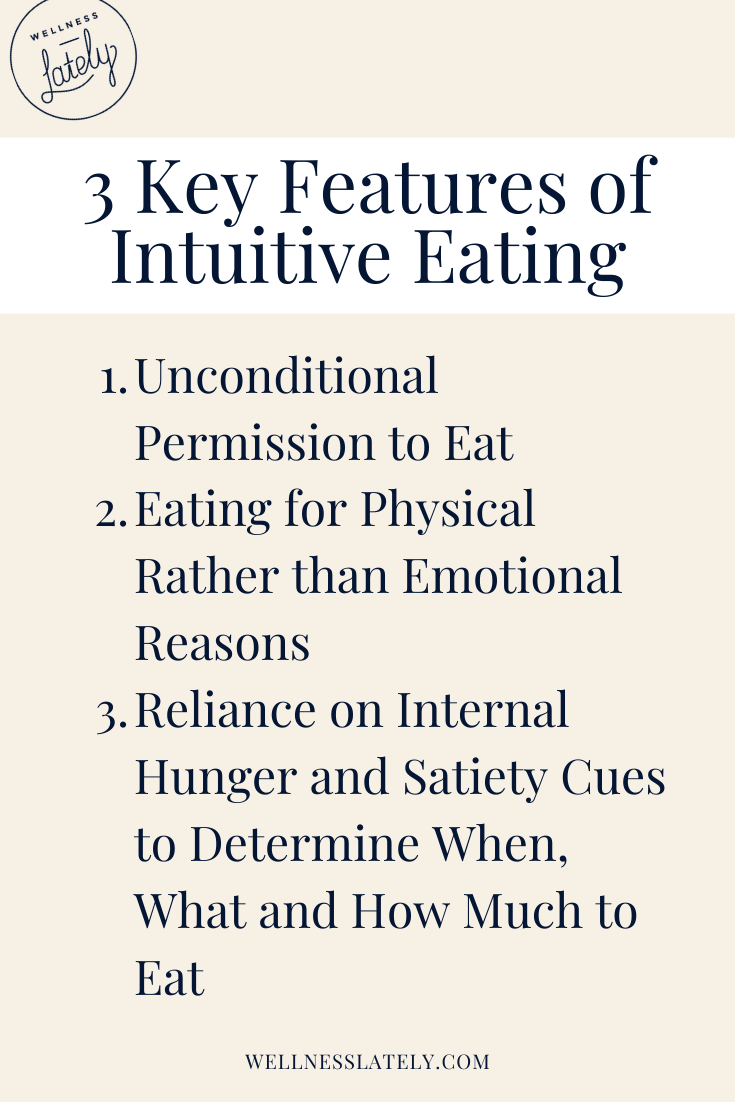 the complete guide to intuitive eating